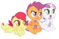 Dragonified CMC - my-little-pony-friendship-is-magic fan art