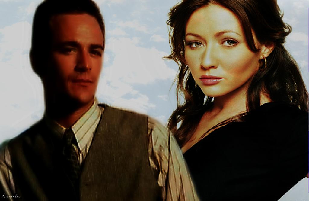 Dylan Mckay & Brenda Walsh - Beverly Hills 90210 Couples Fan