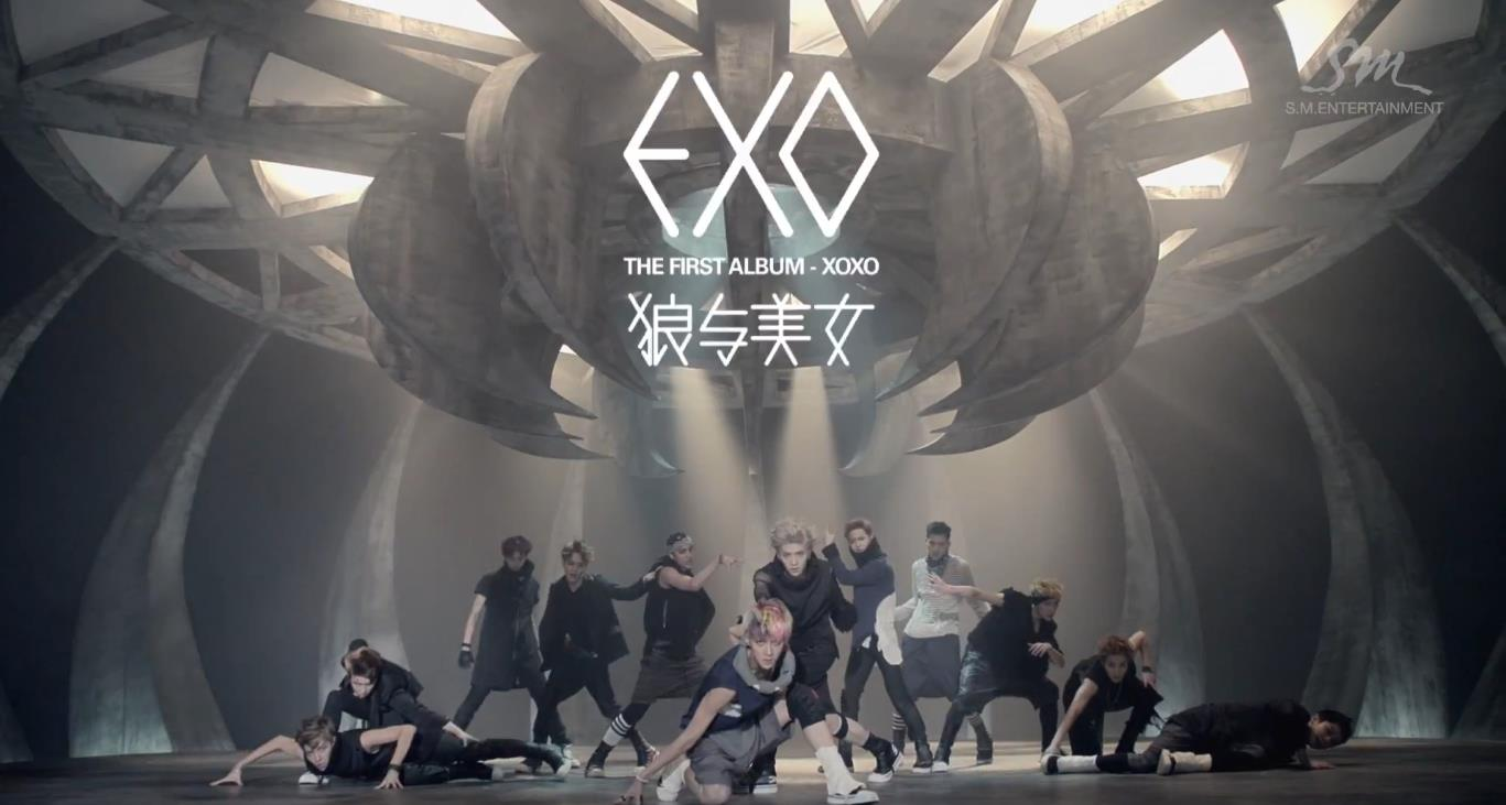 Exo-K &Amp; Exo-M – Wolf
