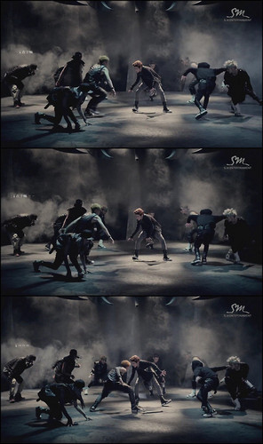 EXO-M wallpaper containing a fountain entitled EXO ~ Wolf Teaser