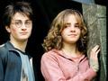 Emma Watson with Daniel Radcliffe - daniel-radcliffe-and-emma-watson wallpaper
