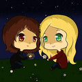 Emma and Gina - once-upon-a-time fan art