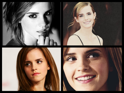 Emma Watson wallpaper with a portrait entitled Emma   :)