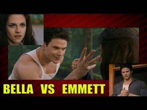 Emmett and Bella Cullen