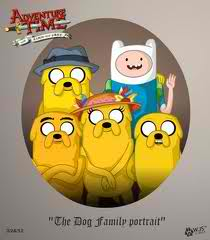 Adventure Time With Finn and Jake wallpaper probably with anime called FINNS FAMILY