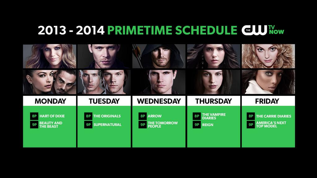 Fall 2013 primetime schedule - The CW Photo (34534814) - Fanpop