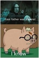 Father was a Swine - harry-potter fan art