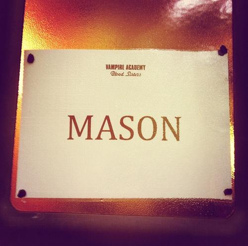 Filming দিন 1-Mason