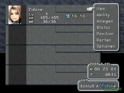 Final 幻想 IX