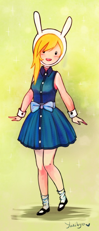 Fionna in different dress