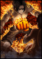 Fire fist ace - one-piece photo