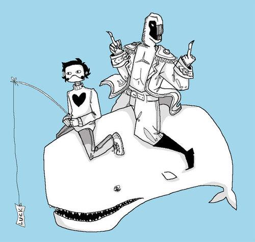 Friendly Neighborhood baleia Hijackers