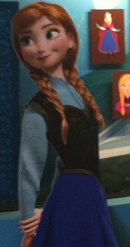 Frozen Anna - disney Photo