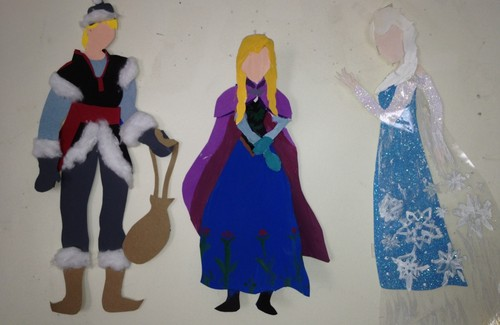 Frozen Paper Art