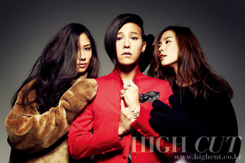 G-DRAGON for HIGH CUT (2012)