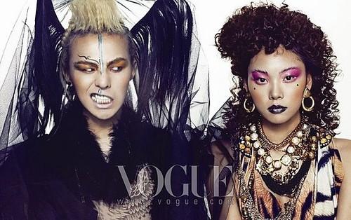 G-DRAGON for VOGUE B Cut (November 2009)