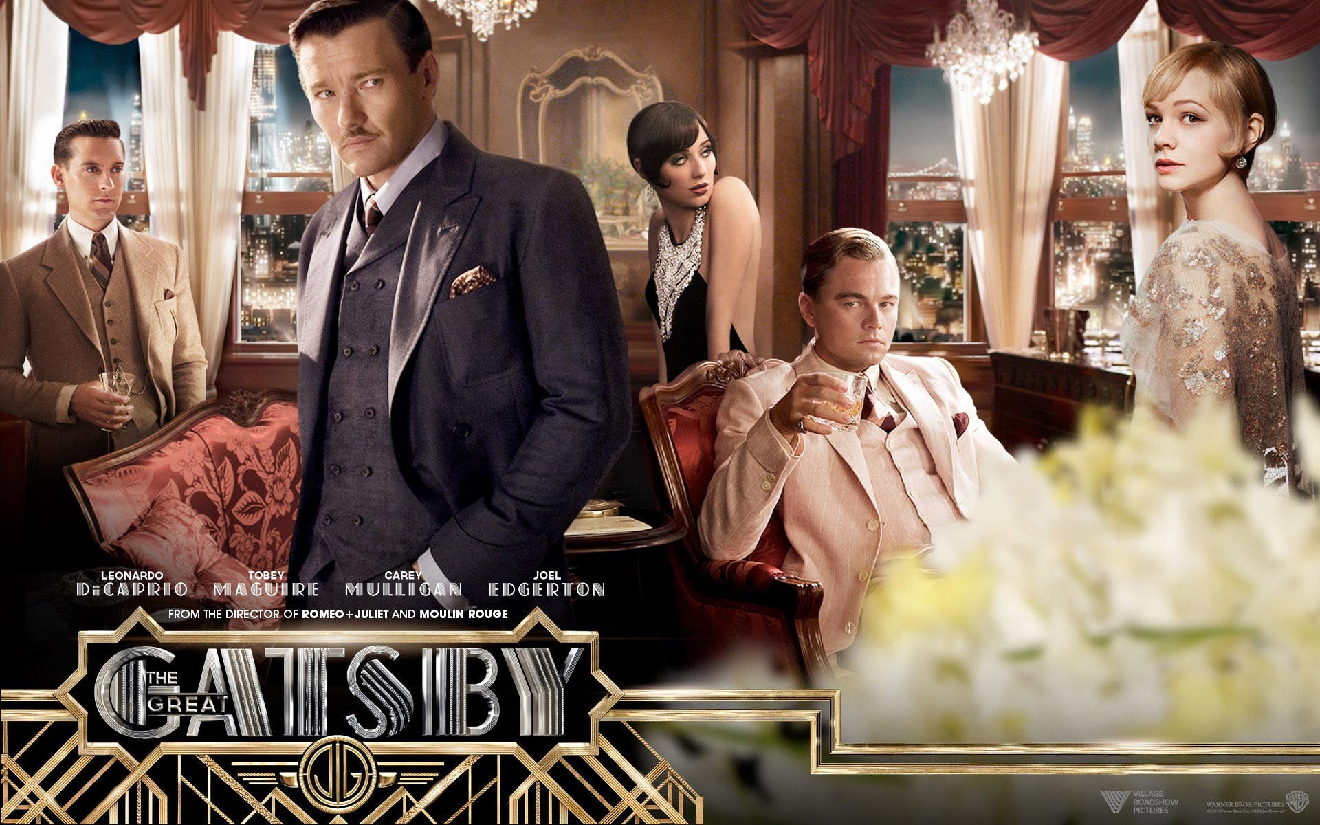 the great gatsby is gatsby The great gatsby - midwest native nick carraway (tobey maguire) arrives in 1922 new york in search of the american dream nick, a would-be writer, moves.