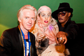 Gaga with Grace Jones and Philip Treacy (Sept. 2012) - lady-gaga photo
