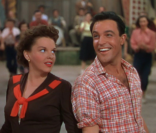 Gene Kelly and Judy Garland in Summer Stock (1950)
