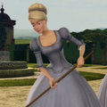 Genevieve cleaning the garden - barbie-movies photo