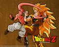 Goku ssj3 vs kid buu - dragon-ball-z photo