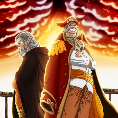 One Piece karatasi la kupamba ukuta entitled Gol.D.Roger