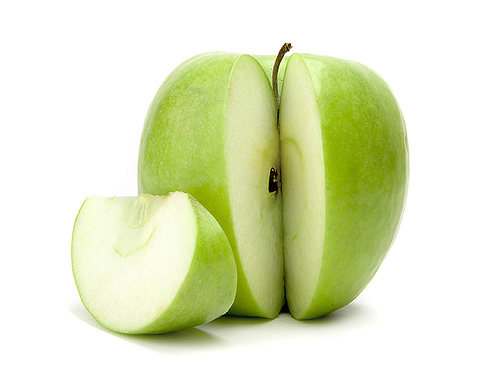 Green apfel, apple