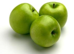 Green epal, apple