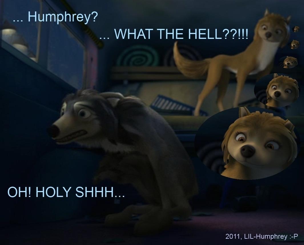 HA..HUMPHREY GOT CAUGHT!