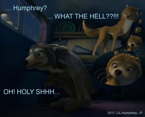 HA..HUMPHREY GOT CAUGHT!