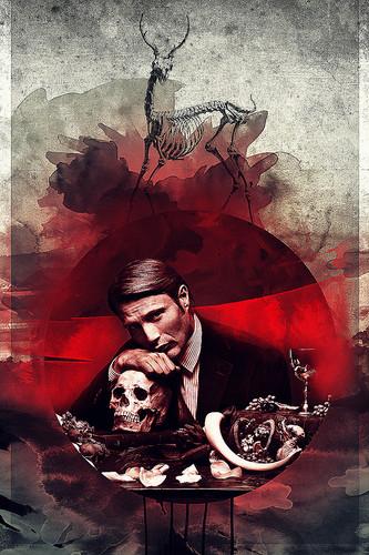 S ê ri phim truyền hình Hannibal hình nền containing a ngọn lửa, chữa cháy entitled Hannibal Lecter