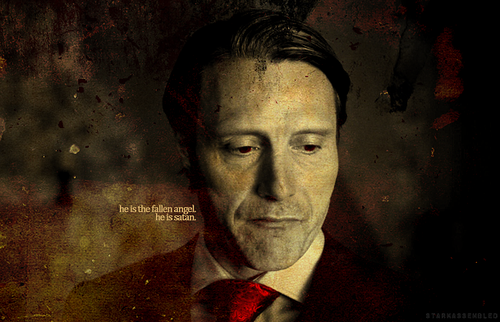 Hannibal TV Series wallpaper possibly with a business suit entitled Hannibal Lecter