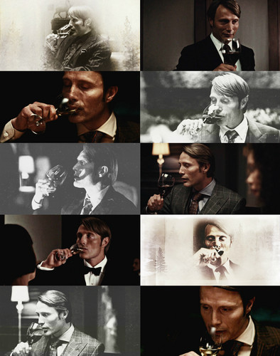 Hannibal lecter + alcohol