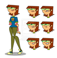 Harriet - total-drama-island fan art