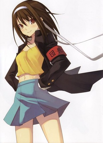 The Melancholy of Haruhi Suzumiya wallpaper possibly with a hip boot titled Haruhi Suzumiya