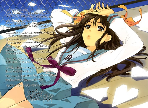 The Melancholy of Haruhi Suzumiya wallpaper possibly with anime titled Haruhi-ism