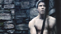 He's strong, she thought. - arya-and-gendry fan art