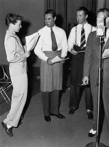 Hepburn, Stewart and Grant