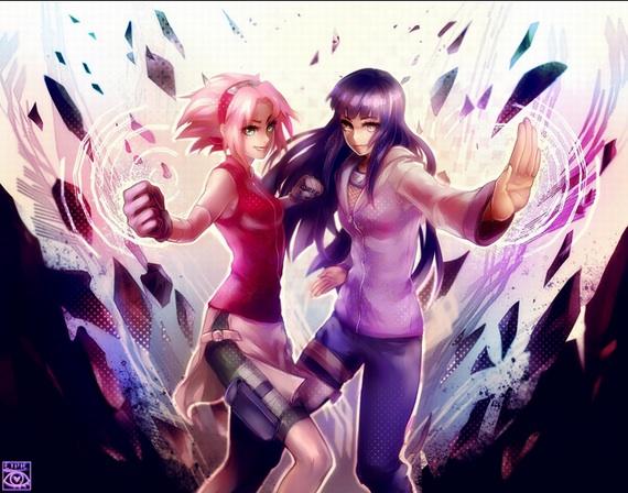 Hinata and Sakura~chan