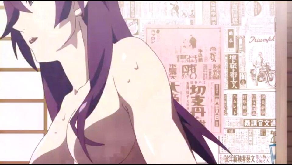 Hitagi from Bakemonogatari