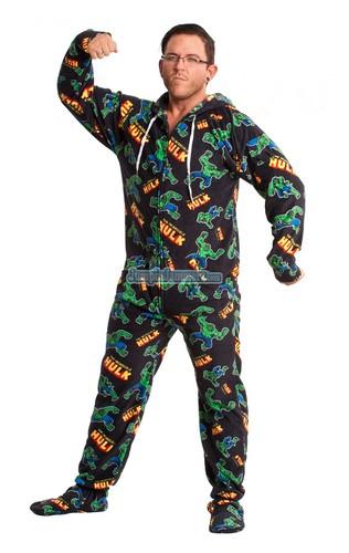 Hulk Footie Pajamas For Sale