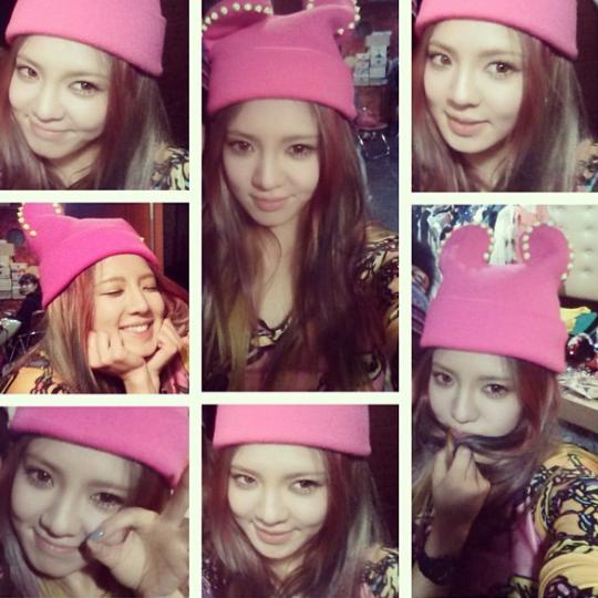 Hyoyeon instagram dating posts