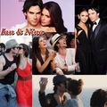 Ian & Nina - ian-somerhalder-and-nina-dobrev fan art