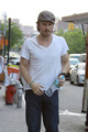 Ian Somerhalder Grabs Lunch in NYC - ian-somerhalder photo