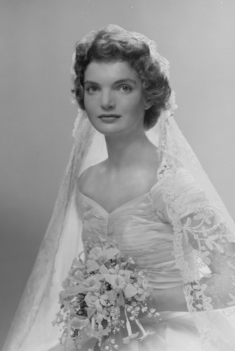 Jacqueline Kennedy Wedding hari September 12, 1953.