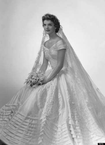 Jacqueline Kennedy Wedding dag September 12, 1953.