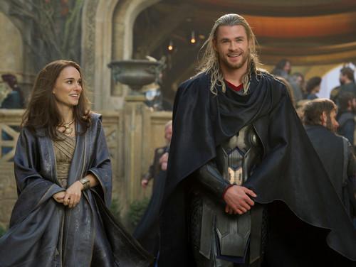Jane in Thor: The Dark World