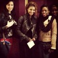 Janet with friends in Paris 