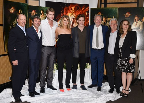 Jennifer, Liam, Sam, and Francis in Cannes