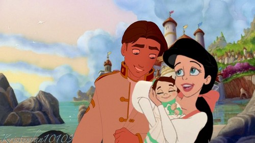 JiMel & their daughter Destiny
